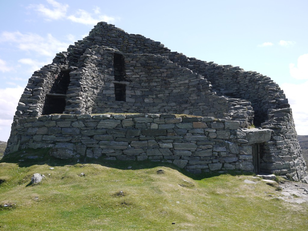 The Iron Age broch at Carloway on Lewis